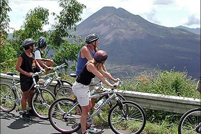 Private Tours: Kintamani volcano downhill cycling-Ubud Monkey forest-Lunch
