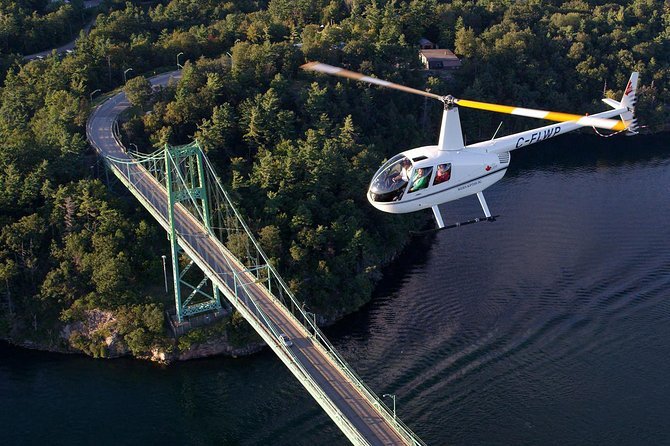 Boldt Castle and Thousand Islands Helicopter Tour