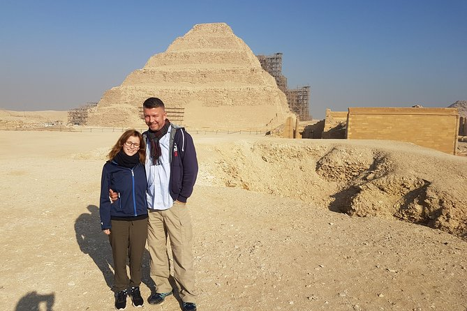 day tour to Sakkara step pyramids, Memphis old city & Dahshur red bent pyramids