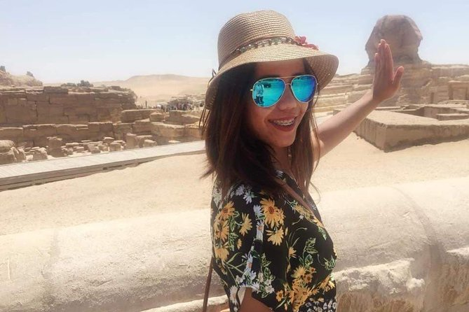 guidance trip to Giza pyramids sphinx and shopping advisor