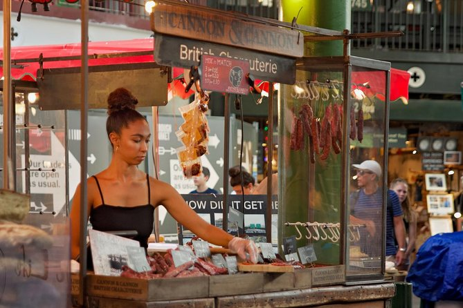 South London Food Tour With A Local: Borough Market, Southbank & London Bridge