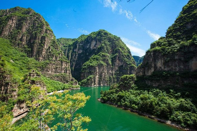 Longqing Gorge and Guyaju Caves Excursion With English Speaking Driver