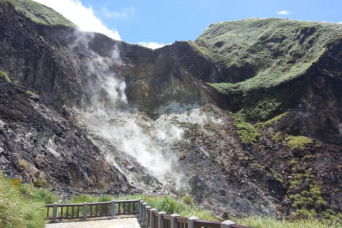 Yangmingshan National Park and Hot-Spring Half-Day Tour from Taipei