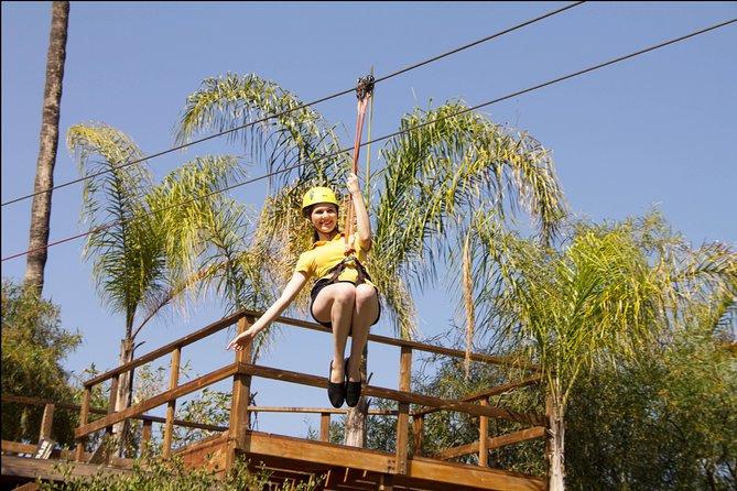 Las Cañadas Canopy Tour in Ensenada