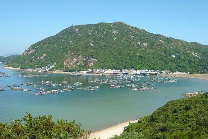 Excursão de um dia para grupos pequenos na ilha de Lamma em Hong Kong