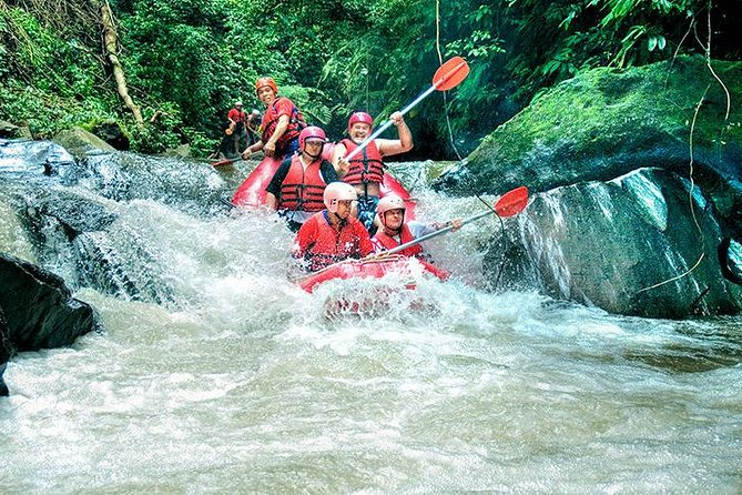 Ayung River Rafting, and Kintamani Volcano Tour with Lunch