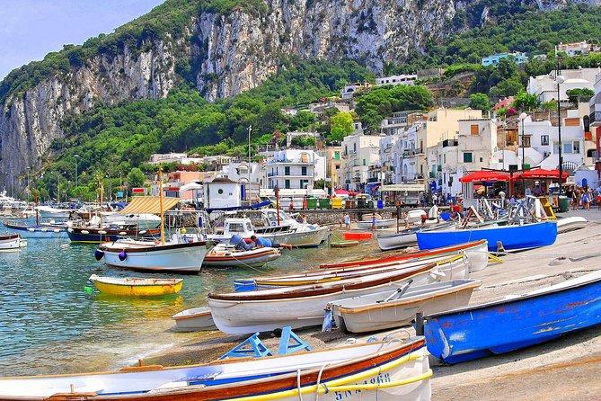Luxury Day trip to Capri from Naples