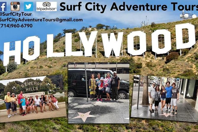 Hollywood Sightseeing Tour from Orange County