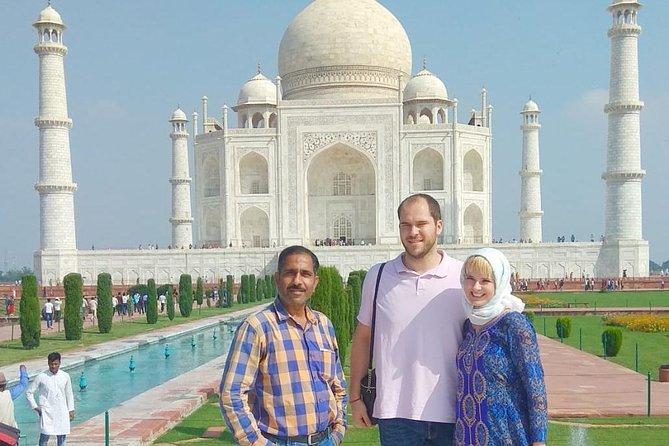 Private Taj Mahal, Agra Fort & Fatehpur Sikri Day Trip From Delhi