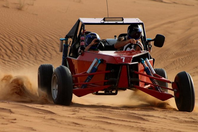 Dunes Buggy Drive In Red Desert Dubai