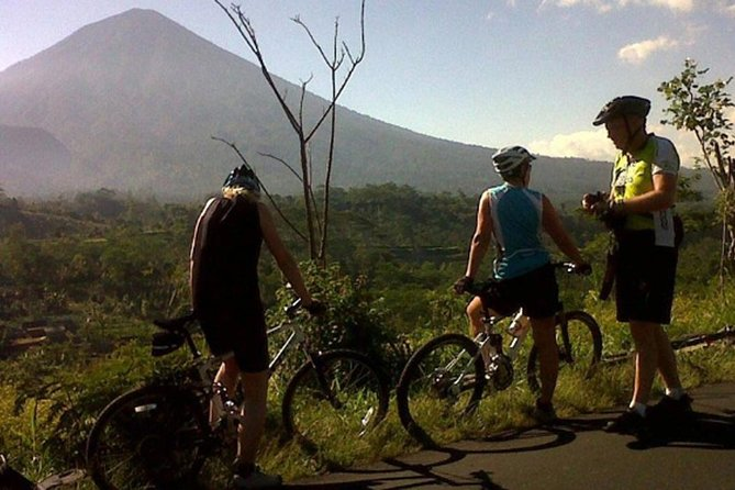Private Tours: Kintamani volcano downhill cycling-Gunung Kawi Temple-Lunch