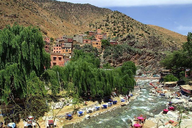 Private day trip from Marrakech to Atlas Mountains and Ourika valley