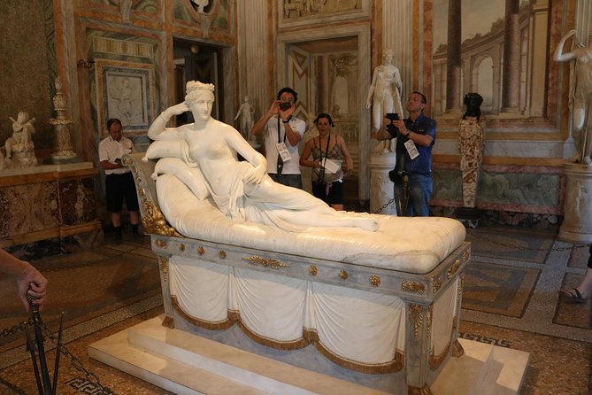 Private Tour of Borghese Gallery with Hotel Pickup and Drop-off