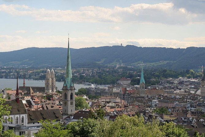 The Best of Zurich Including Panoramic Views in a Small Group Walking Tour