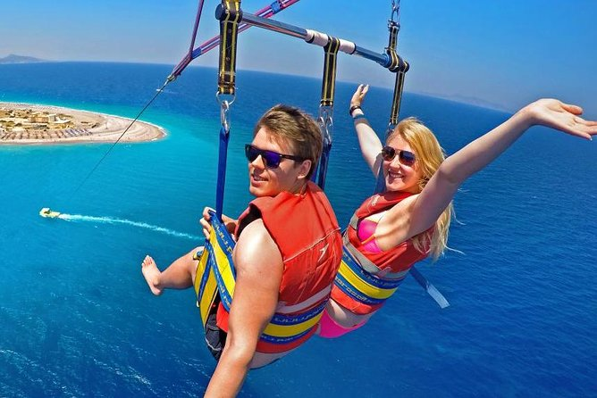 Parasailing and Local Shopping Experience At Punta Cana