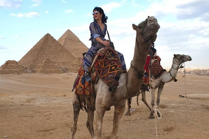 2 hours Camel or horse ride outside Giza pyramids Cairo Giza hotels photo 9