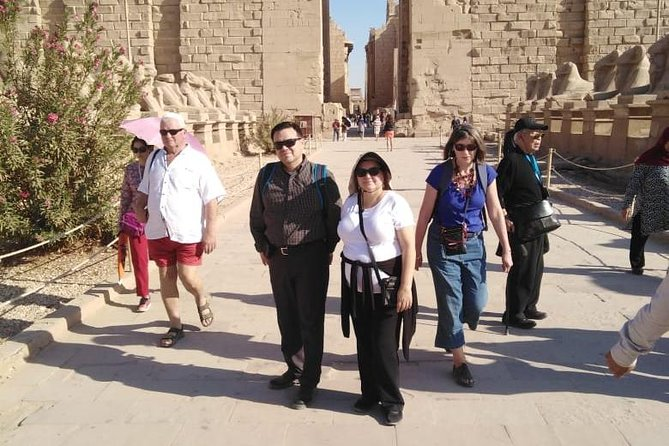 East luxor from luxor or nile cruise hotel with expert guide
