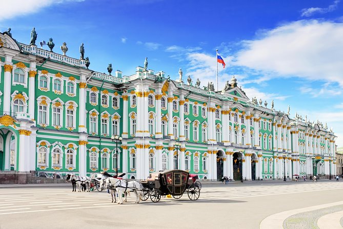 4 Hours Saint Petersburg Tour with Pick up by transport