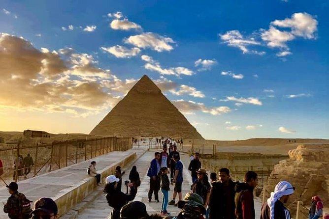 Giza pyramids , camel ride & koshry lunch from cairo giza hotels