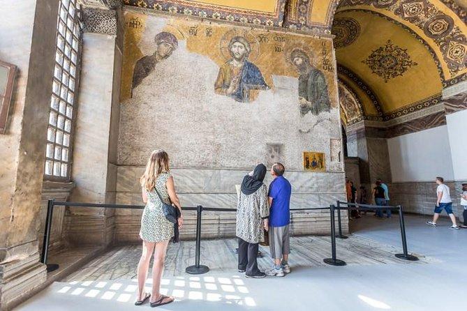 Hagia Sophia and Topkapi Palace Half Day Tour ( 9:00am and 1:00pm )