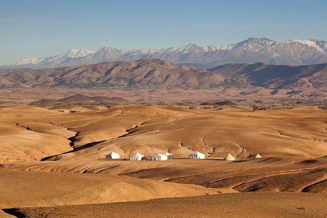 Desert Agafay And Atlas Mountains Valleys inluded Lunch and Camel Ride & Sunset