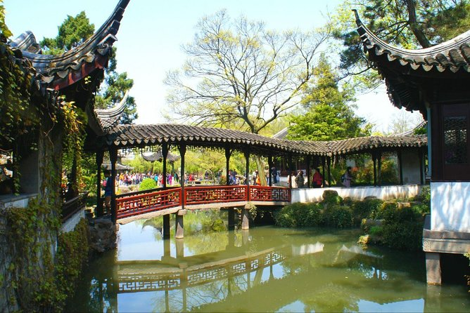 Private Suzhou Garden and Water Town Highlight Trip