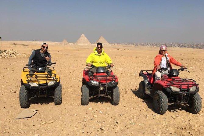 1 Hour Quad Bike Excursion at the Complex of Giza Pyramids