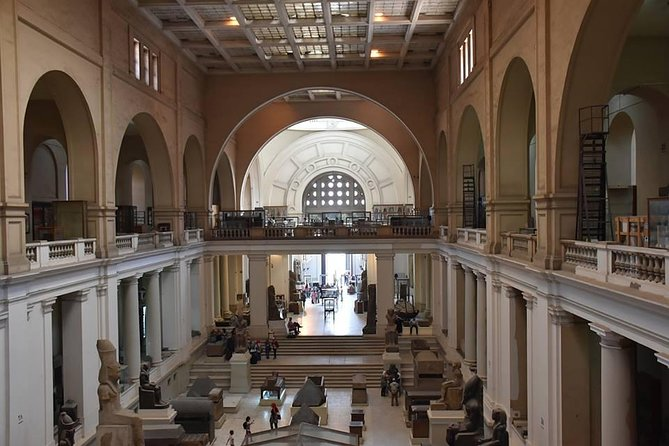 8-hours full-day Egyptian museum Giza pyramids sphinx bazaars Cairo Giza hotels photo 6