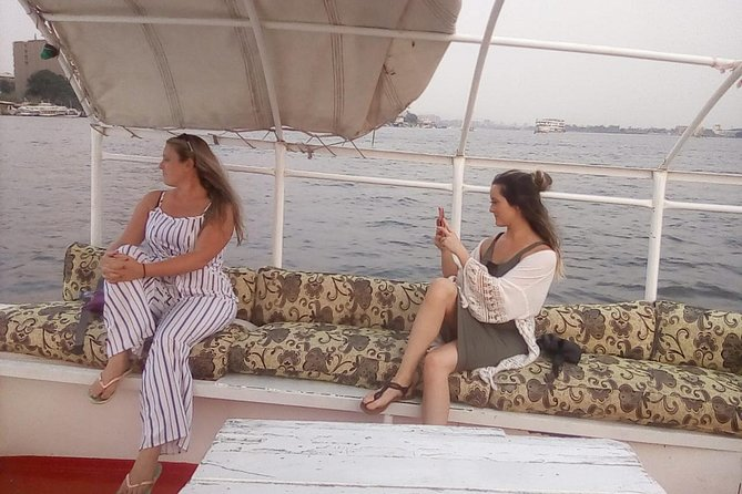 one hour felucca & lunch in traditional food koshry from Cairo/Giza hotels