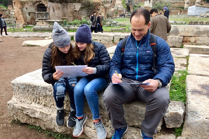 Skip the Line Colosseum , Roman Forums and Ancient Rome Treasure Hunt For Kids