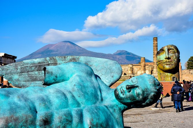 Day Trip from Naples to Pompeii and Vesuvius including Guide and Lunch