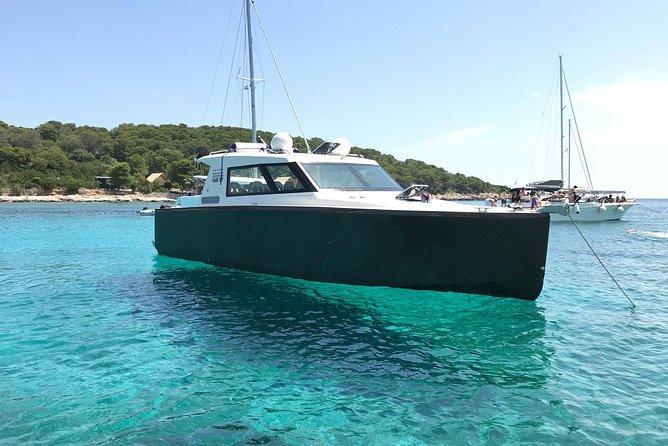 Luxury Boat - Blue Cave From Split Island-Hopping Full-Day Cruise, Hvar, Vis