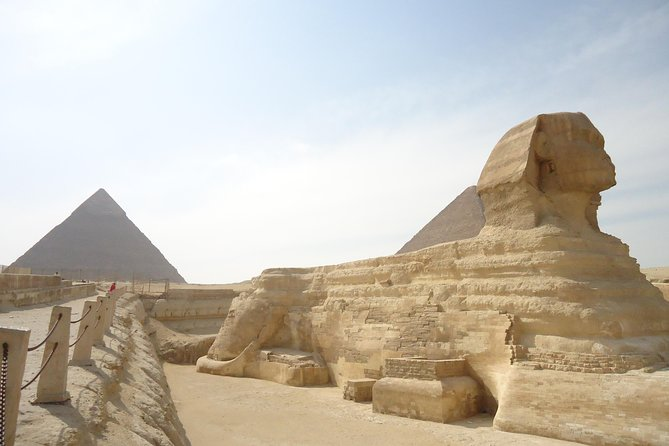 Giza pyramids, Sphinx and Egyptian Museum Full Day Private Trip