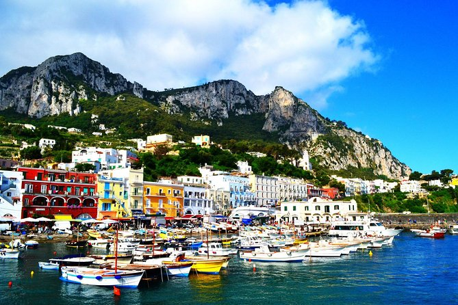 Excursão diurna em Capri e Anacapri saindo de Sorrento