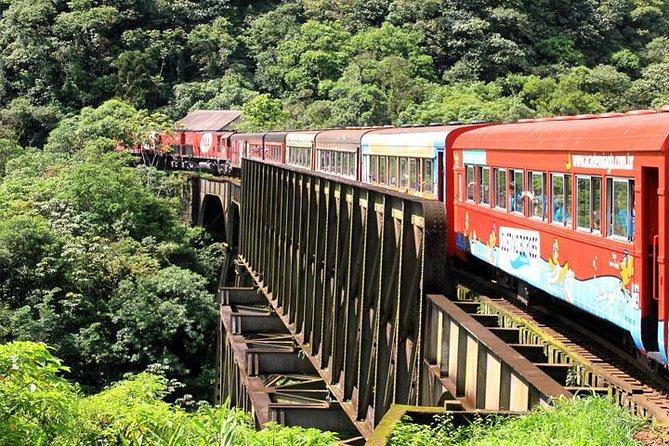 Serra Verde Express: Excursão ferroviária para Morretes e Antoninna de Curitiba