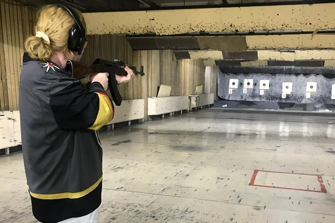 Moscow Shooting Experience: Shoot a Kalashnikov at the Central Shooting Club