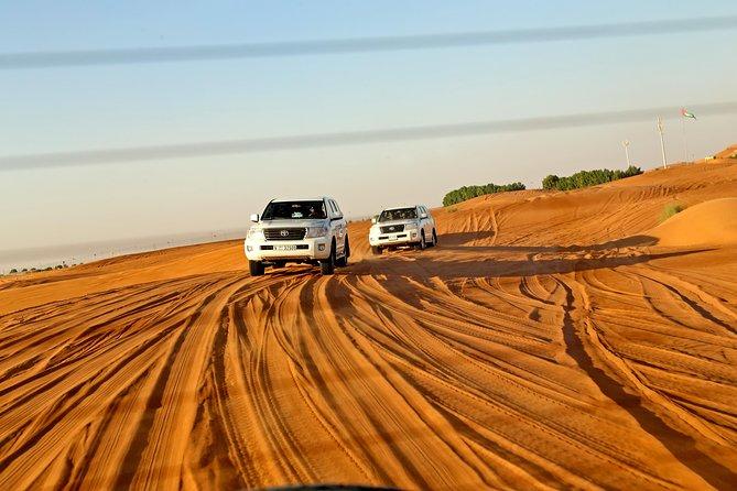Dubai Desert Safari Including BBQ and Al Hibab Red Dune Bashing