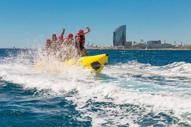 Banana Boat Experience in Barcelona