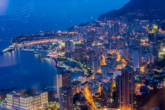 Small group excursion to Monaco by Night
