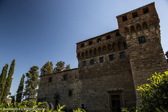 VIP - Tuscan Castle and Ancient Cellars Visit with Wine Tasting near Florence