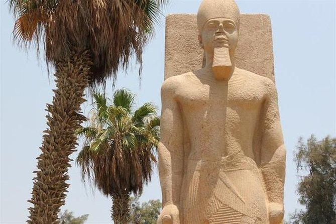 private Tour Giza Pyramids & Memphis & Saqqara & Camel ride From Cairo