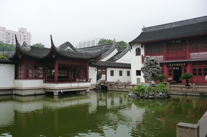 Private Full Day Tour: Zhujiajiao Ancient Water Town with Best of Shanghai photo 2