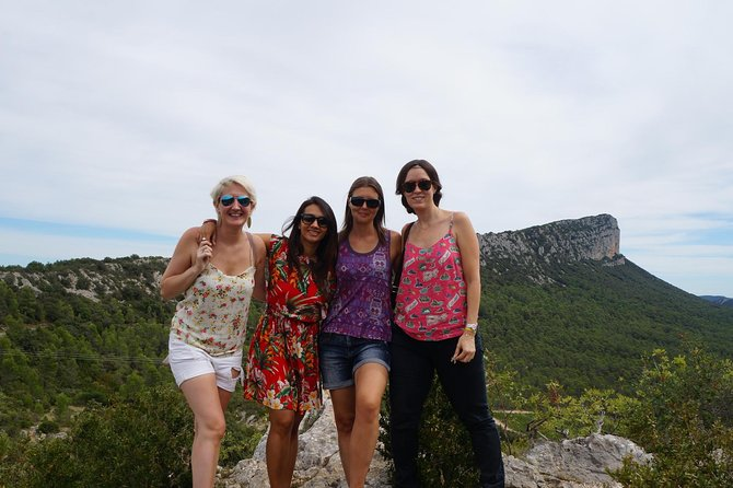Full Day Pic Saint Loup Wine and Olive Tour with Lunch from Montpellier