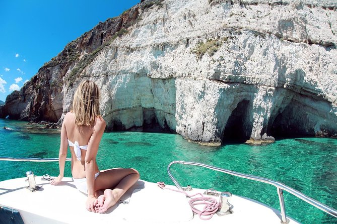 Vis Island & Blue Cave Grotto Private Yacht tour from Korcula island