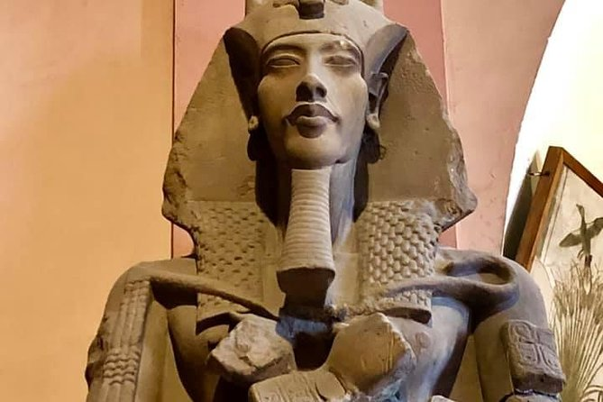 Cairo and Giza pyramids day tour from luxor by flight