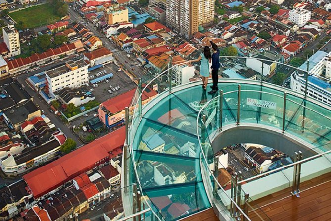 Skip the Line: Penang Rainbow Skywalk at The Top Komtar Observation Deck Tickets