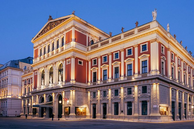 Exclusive Viennese Classical Concert- Musikverein,Brahms Hall