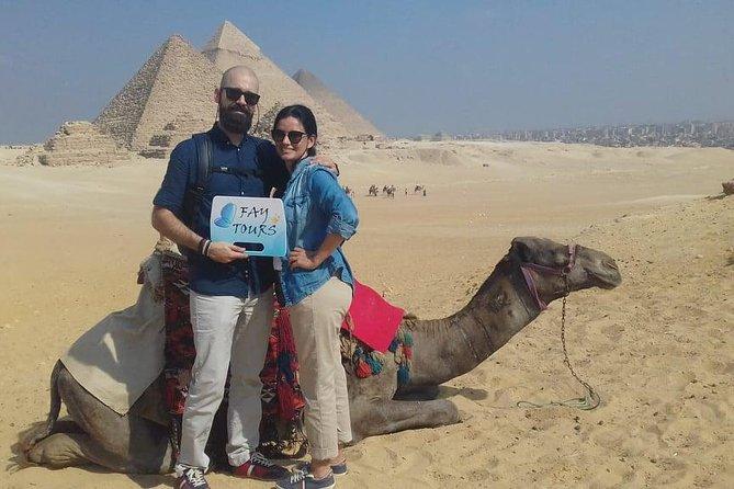 Private Day Tour Giza Pyramids Sphinx Memphis and Saqqara