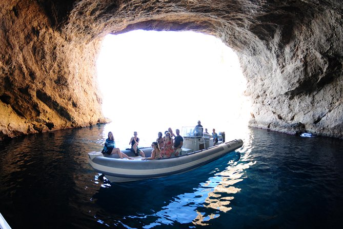 Beach Snorkeling and Cave Tour in Ibiza by Boat