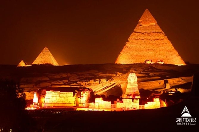 Cairo Layover Tour To Pyramids,Museum,Khan Khalili Bazaar And Sound & Light Show